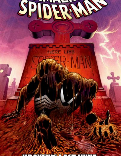 Amazing Spiderman Kraven's Last Hunt Graphic Novel - August 2008