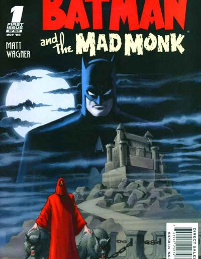 Batman and the Mad Monk #1 - October 2006