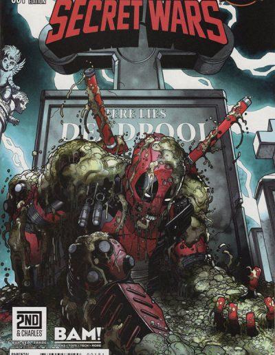 Deadpool's Secret Wars #1 Books-A-Million Variant - July 2015