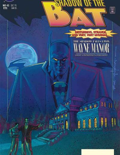 Shadow of the Bat #45 - December 1995