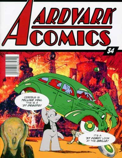 Aardvark Comics #1 - September 2017