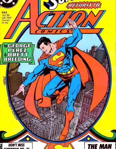Action Comics #643 - July 1989