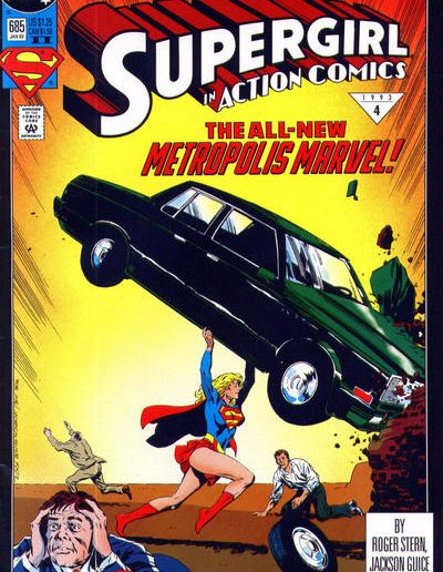 Action Comics 685 (2nd Print) - January 1993
