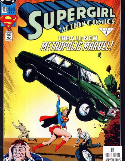 Action Comics 685 (3rd Print) - January 1993