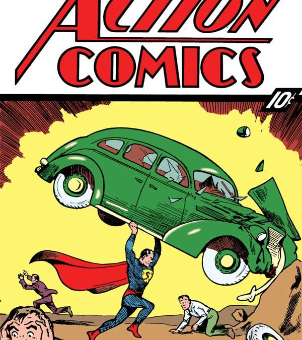 Action Comics #1 Homage Covers