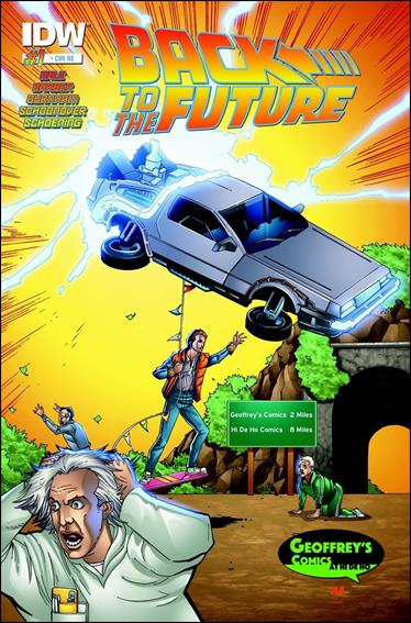Back to the Future #1 - October 2015