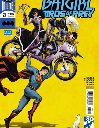 Batgirl Birds of Prey #21 - April 2018