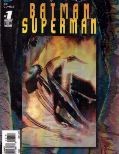 Batman Superman Futures End #1 (Lenticular) - November 2014