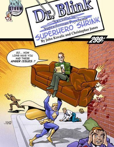 Dr Blink: Superhero Shrink #0 - June 2004
