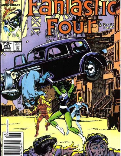 Fantastic Four #291 - June 1986