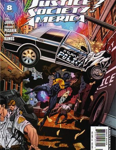 Justice Society #8 (Vol 3) - October 2007