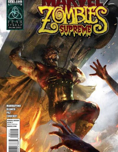 Marvel Zombies Supreme #2 - May 2011