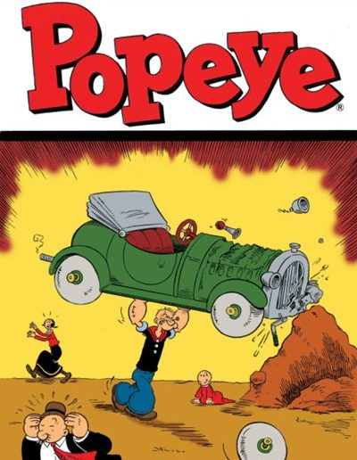 Popeye #1 - April 2012