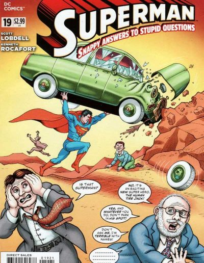 Superman #19 (Vol 3) Mad Variant - June 2013
