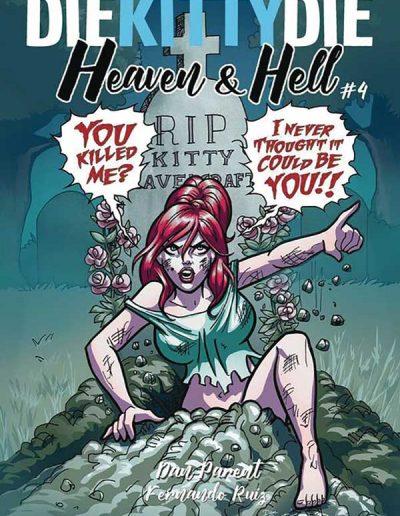 Die Kitty Die Heaven & Hell #4 - January 2019