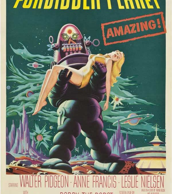 Forbidden Planet (Movie Poster) Homage Covers