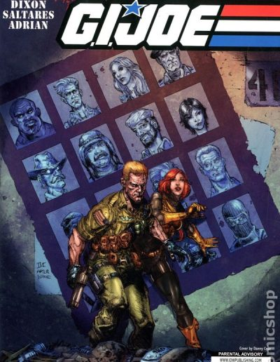 G.I. Joe (Vol 2) #5 (Retailer Incentive Cover C) - September 2011