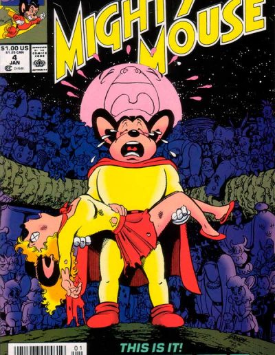 Mighty Mouse #4 (Vol 5) - January 1991