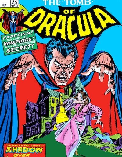 Tomb of Dracula #23 - August 1974