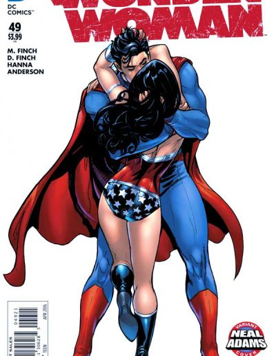 Wonder Woman (Vol 4) #49 - April 2016