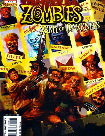 Marvel Zombies vs Army of Darkness #1 - May 2007