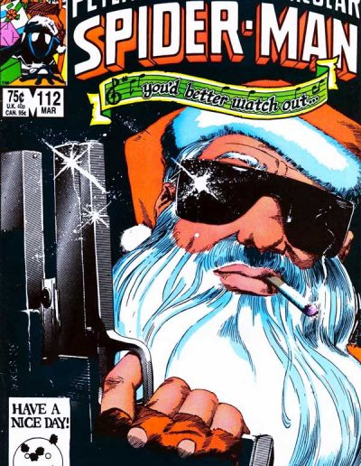 The Spectacular Spiderman #112 - March 1986