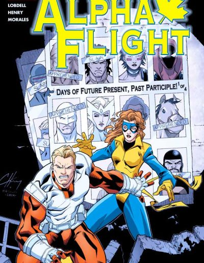Alpha Flight (Vol 3) #9 - January 2005