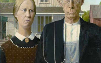 """American Gothic"" Homage Covers"