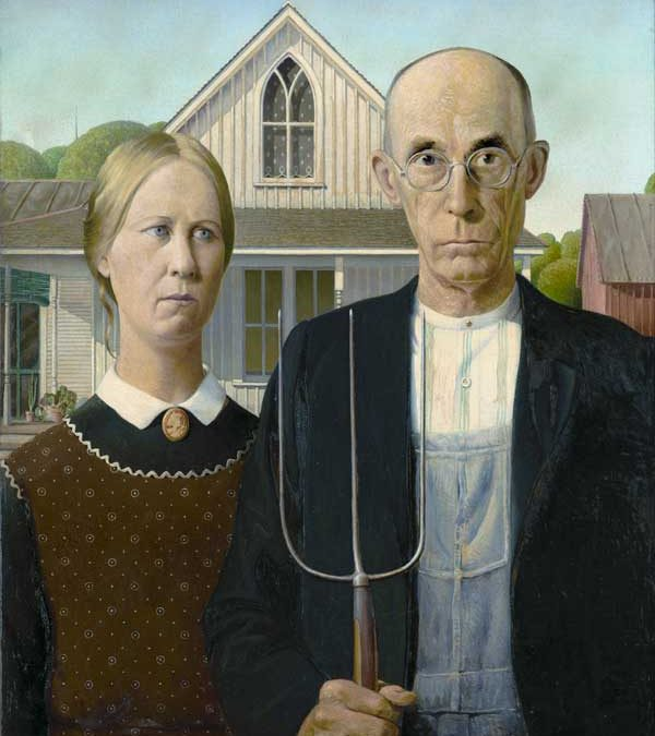 """""""American Gothic"""" Homage Covers"""