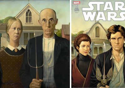 "Grant Wood's ""American Gothic"" & Star Wars (Vol 3) #57 - January 2019"