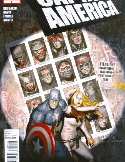 Captain America (Vol 6) #6 - February 2012