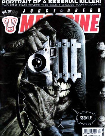 Judge Dredd Megazine (Vol 5) #211 - October 2003