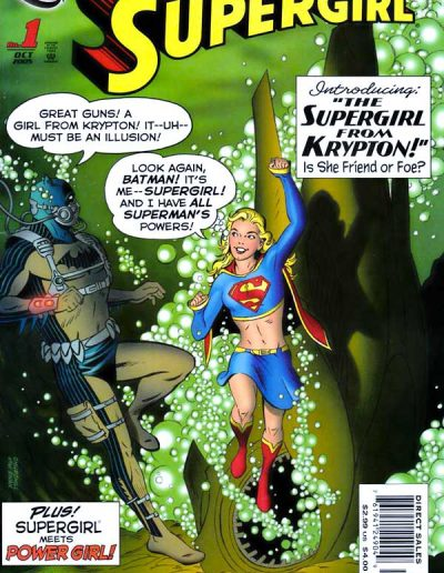 Supergirl (Vol 5) #1 - October 2005 [3rd Print]