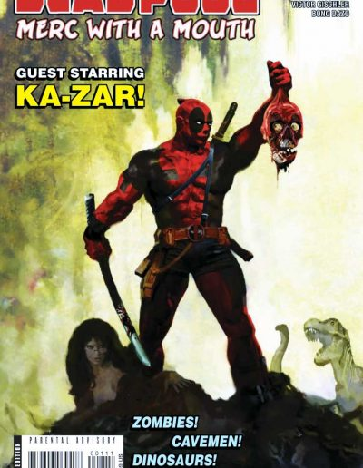 Deadpool: Merc with a Mouth #1 - July 2009