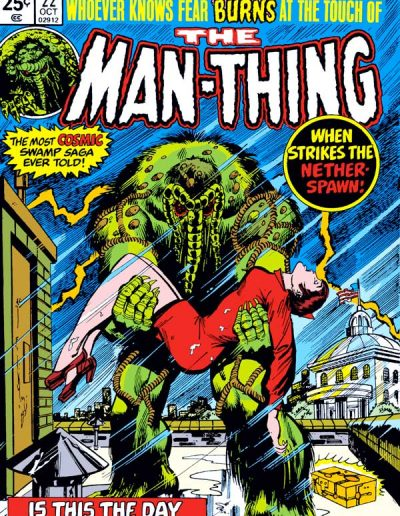 The Man-Thing #22 - October 1975