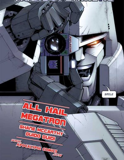 Transformers: All Hail Megatron #1 - July 2008