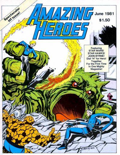 Amazing Heroes #1 - June 1981