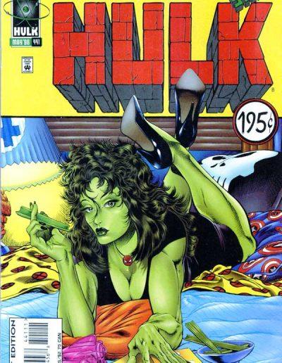 The Incredible Hulk #441 (Direct) - May 1996