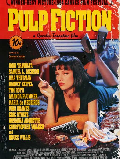 Pulp Fiction (Movie Poster) Homage Covers