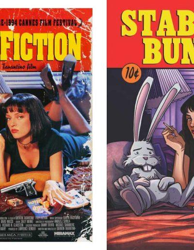 Stabbity Bunny (Vol 2) #6 - January 2000