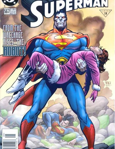 Adventures of Superman #567 - May 1999