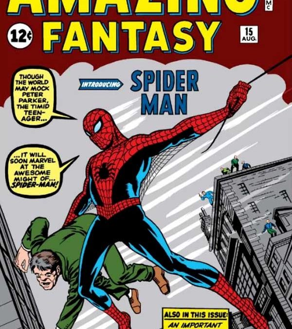 Amazing Fantasy #15 Homage Covers