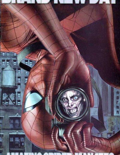 The Amazing Spider-Man #552 (Adi Granov 1:20 Variant) - May 2008