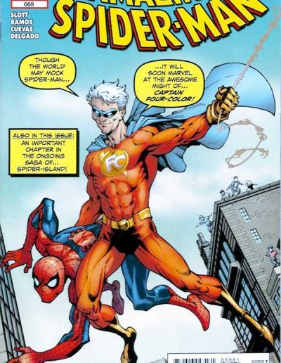 Amazing Spiderman #669 (Flying Colors Variant) - November 2011
