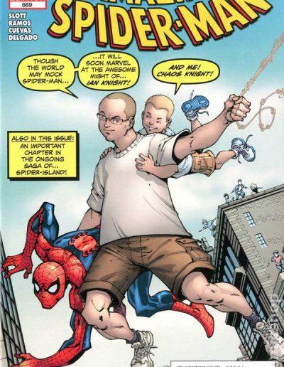 Amazing Spiderman #669 (Midtown Variant) - November 2011