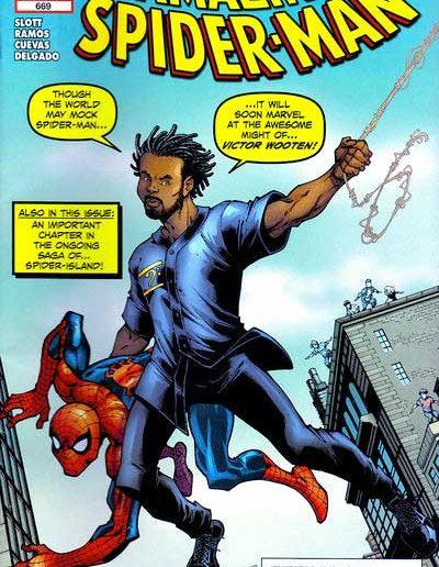 Amazing Spiderman #669 (Wooten Variant) - November 2011