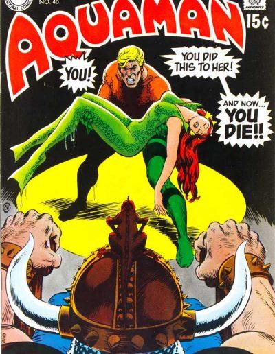 Aquaman #46 - July 1969