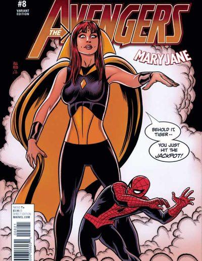Avengers (Vol 6) #8 Mary Jane Variant - August 2017
