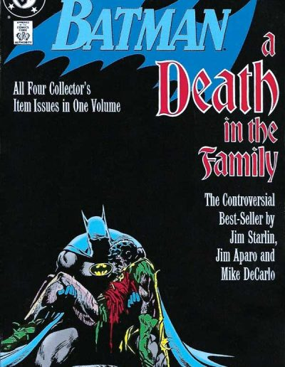 Batman: A Death in the Family (Trade Paperback) - March 1988