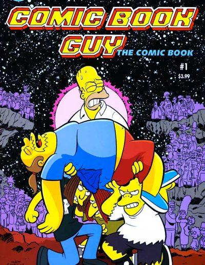 Bongo Presents: Comic Book Guy #1 - July 2010